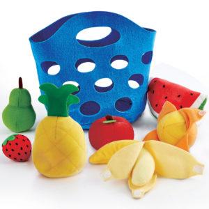 panier de fruits pour jeu d'imitation
