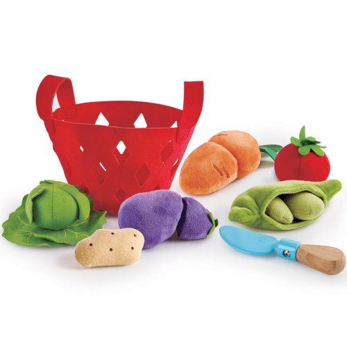 panier de légumes pour jouer à la marchande