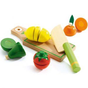 fruits et légumes pour jeu d'imitation