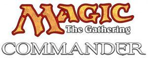 Evènement Magic The Gathering: format Commander