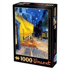 Puzzle Van Gogh : Terrasse de Café le Soir