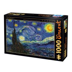 Puzzle Van Gogh : la Nuit Étoilée