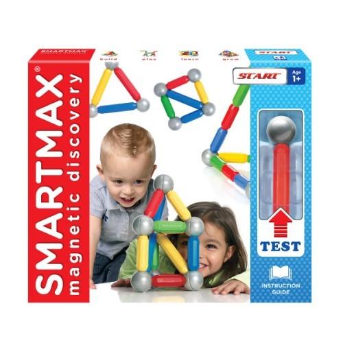 Bâtonnets et boules magnétiques pour de nombreuses possibilités de jeu et d'assemblage.