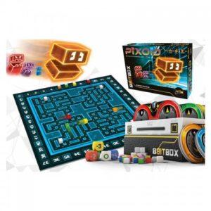 8Bit Boxestun coffret de 3 jeux de société, directement inspirés du rétrogaming.