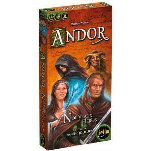 Nouveaux Héros est une extension pour le jeu Andor.