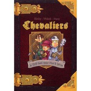 la BD dont vous êtes le héros sur le thème des chevaliers