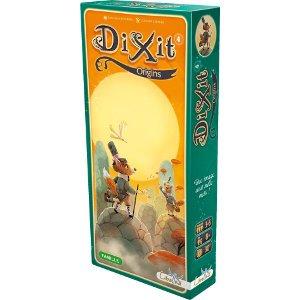 Dixit 4 origins est une extension pour les jeux Dixit et Dixit Odyssey signé Clément Lefèvre.