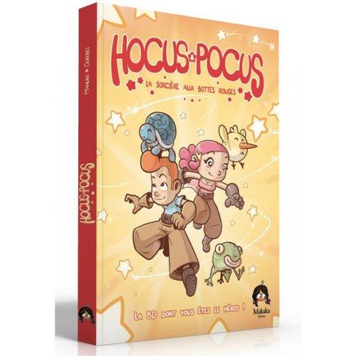 Hocus & Pocus la BD dont vous êtes le Héros