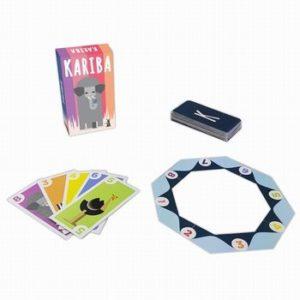 Kariba est un jeu de cartes et de malin.