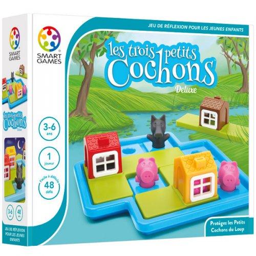 les trois petits cochons jeu de logique enfant boutique terra ludi. Black Bedroom Furniture Sets. Home Design Ideas