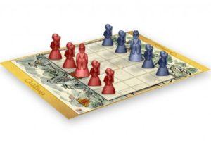 Onitamaest un jeu tactique et stratégique simple et pourtant profond, pour 2 joueurs.