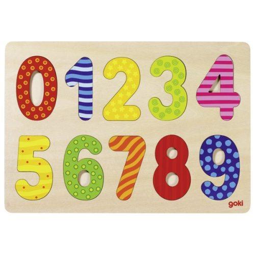 puzzle chiffres en bois