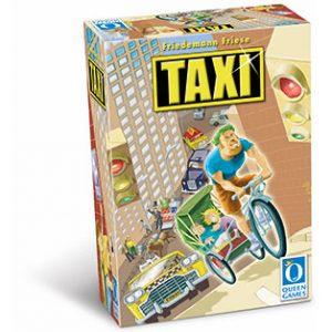 Turbo Taxi est un jeu de pose de tuiles signé Friedman Friese.