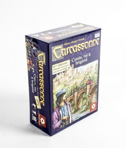 Extension pour le jeu Carcassonne.