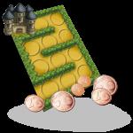 Tower Defense est un jeu fun et original qui tient dans la poche et qui se joue avec une carte et des pièces de monnaie !