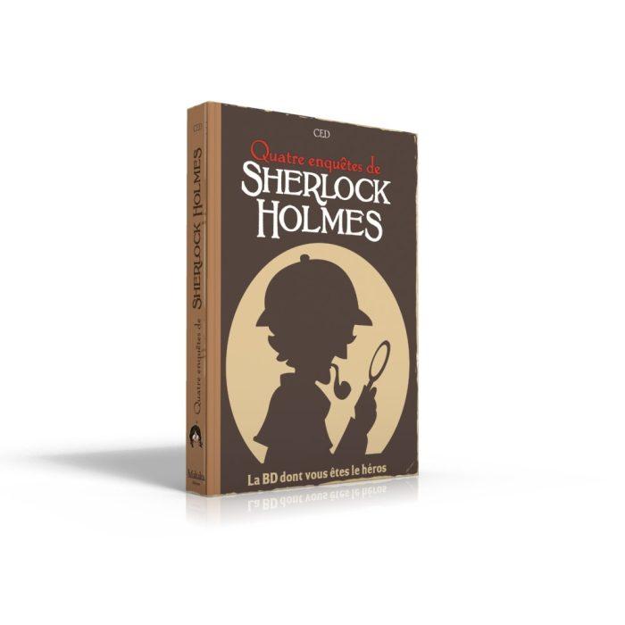 Sherlock Holmes Livre 2 la BD dont vous êtes le Héros