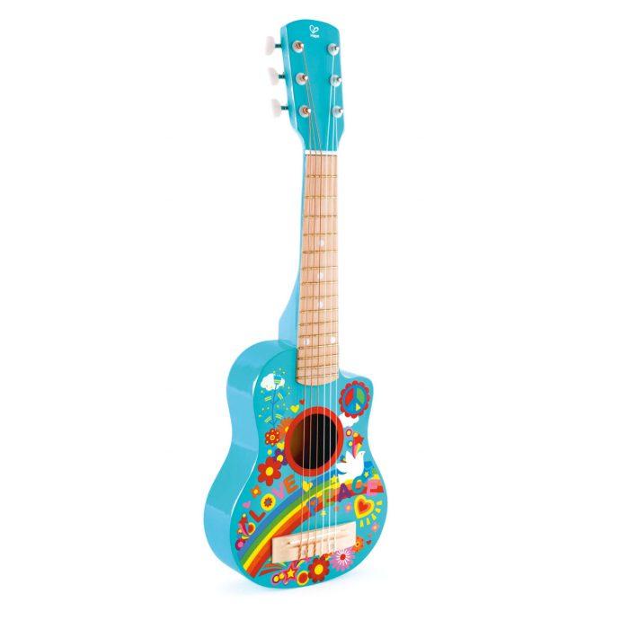Mini Guitare Flower Power