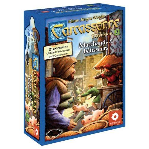 Extension pour le jeu de société Carcassonne