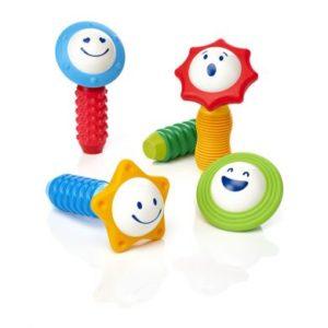4 hochets magnétiques et sensoriels à construire
