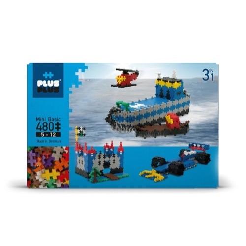 Plus Plus Mini Basic 480 pièces