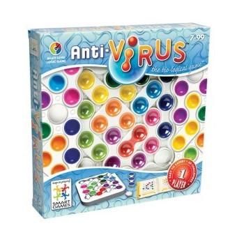 Antivirus est un jeu de logique évolutif de la marque Smart Games.