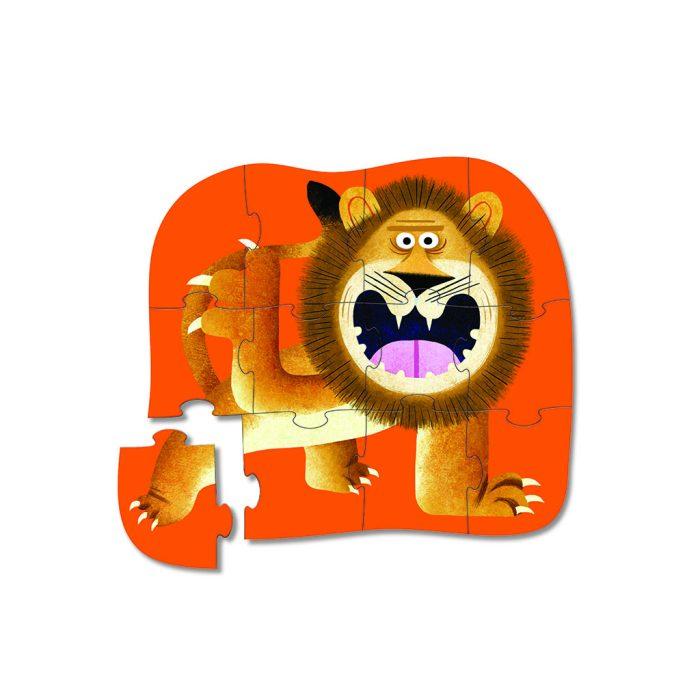 Puzzle Rugissement du Lion