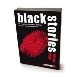 Black Stories est un jeu de société mêlant enquête et déduction.