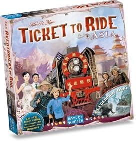 Les Aventuriers du Rail : Asie
