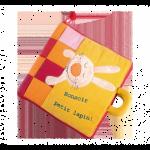 Livre en tissu de la marque Lilliputiens