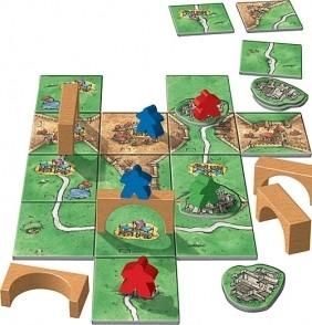 8e extension du jeu de société Carcassonne pour toujours plus de plaisir.