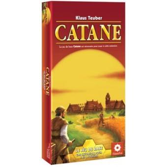 Extension pour 5 à 6 joueurs du jeu de société Catane.