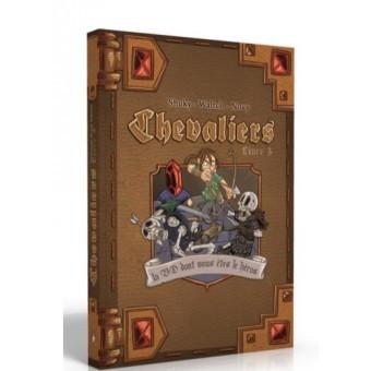 Chevaliers Livre 3 la BD dont vous êtes le Héros