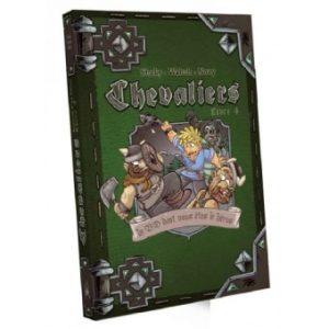 Chevaliers Livre 4 est une suite à l'une des fins du précédent opus dans l'univers des BD Chevaliers dont VOUS êtes le Héros !