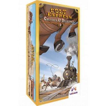Une extension pour le jeu de société Colt Express.