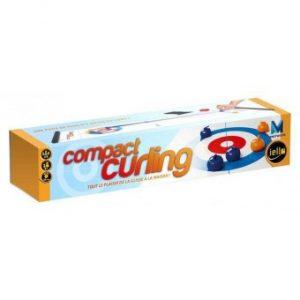 Compact Curling est un jeu rapide et fun qui simule des parties de curling endiablées.