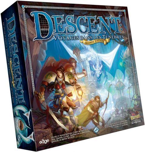 Descent - Voyage dans les Ténèbres est un fantastique jeu d'aventures épiques.