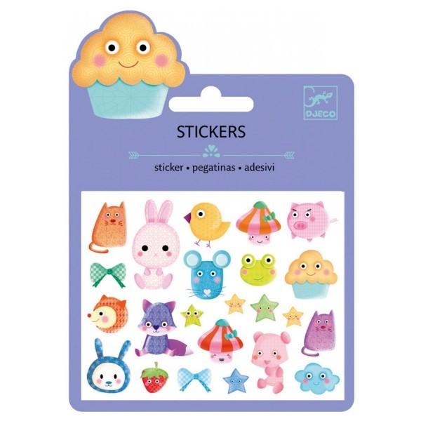 Stickers en Relief : Kawai