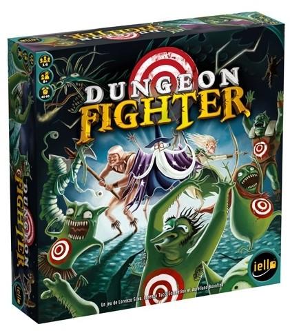 Dungeon Fighter est un jeu coopératif qui combine dextérité, aventure et une bonne dose d'humour !