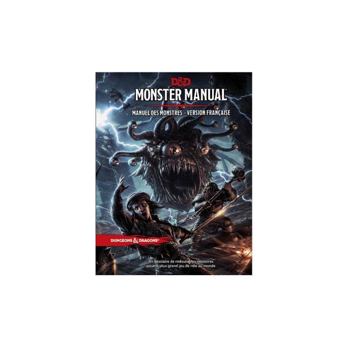 Dungeons & Dragons 5e Edition : Manuel des Monstres VF
