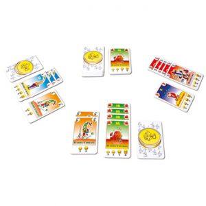 jeu de cartes de négociation