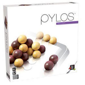 Pylos est un jeu de réflexion en bois pour 2 joueurs aussi amusant qu'esthétique.