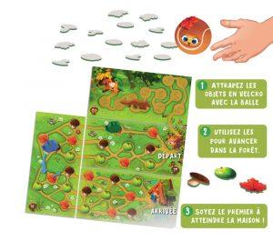 Un jeu de dextérité modulable pour les enfants