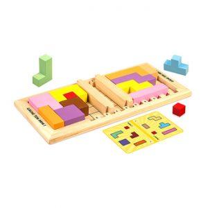 jeu éducatif en bois