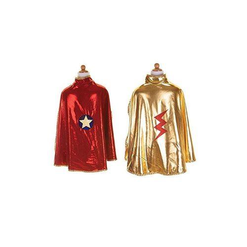 Cape réversible Wonder Woman pour déguisement enfant