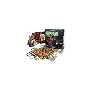Horreur à Arkham est un jeu coopératif qui prend place dans la ville fictive d'Arkham, Massachusetts, rendue célèbre par les écrits de H.P. Lovecraft sur le mythe de Cthulhu.