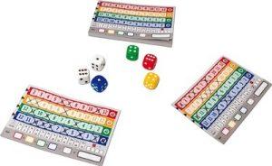 Qwixx est un jeu de dés rapide où vous jouez avec les chiffres sortis avec le hasard des dés.