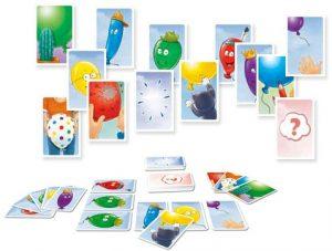 Ballons est un jeu de cartes pour tout petits, il apprendra aux enfants à gérer la perte d'un objet.
