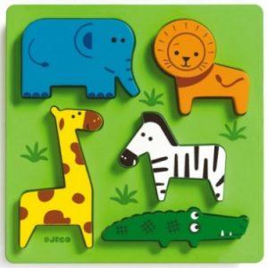 puzzle relief à encastrement