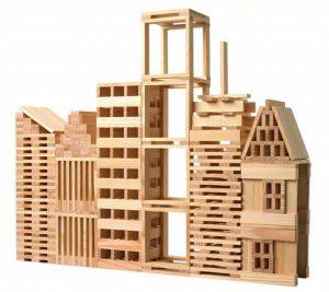 modèle pour jeu de construction en bois kapla