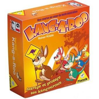 Kang-a-Roo est un petit jeu de cartes pour les plus jeunes développant les notions d'attaque et de défense.